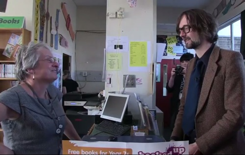 jarvis school Video: Jarvis Cocker goes back to school