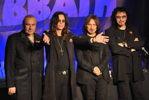 black sabbath Black Sabbath schedules European reunion tour dates