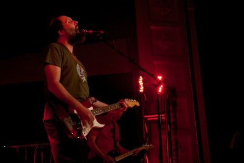 builttospillrearick1 Live Review: Built to Spill, Atlas Sound at Carnegie Library in Braddock, PA (11/11)