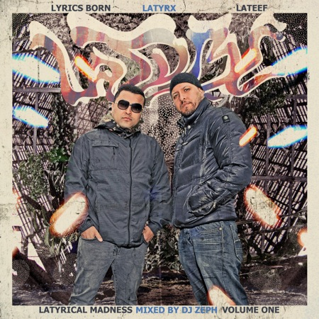 latyrx latyricalmadness vol1 cover Check Out: Latyrx   Latyrical Madness Volume 1 (CoS Premiere)