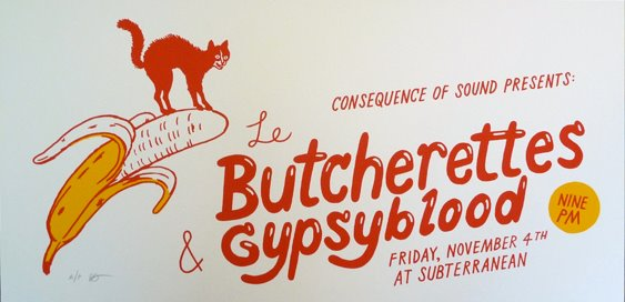 lebutcherettes1 Don't Forget: Le Butcherettes, Gypsyblood at Chicago's Subterranean (11/4)