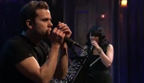 m83fallon1 Video: M83 takes Fallon to Midnight City