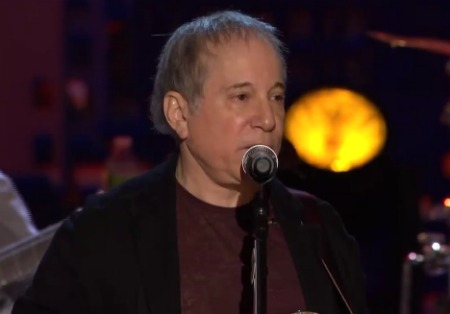 "paulsimonlatenight Video: Paul Simon performs ""Love Is Eternal Sacred Light"" on Conan"