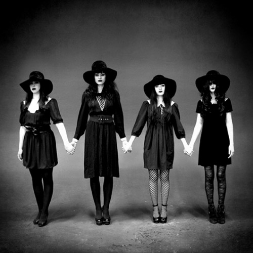 tmr122 frontcover lg Stream: The Black Belles   The Black Belles (CoS Premiere)