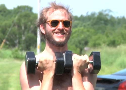 bon iver workout Bon Iver workout DVD coming soon...
