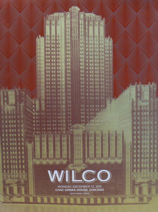 chicago civic opera house Stream: Wilcos Incredible Shrinking Tour of Chicago opening night