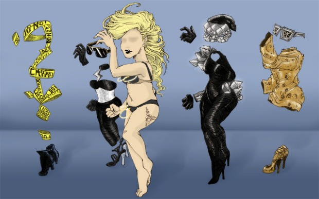 gaga feat final Year in Art 2011