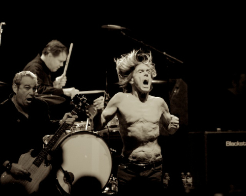 iggypopdebi1 Live Review: Iggy & the Stooges, Le Butcherettes at the Hollywood Palladium (12/1)