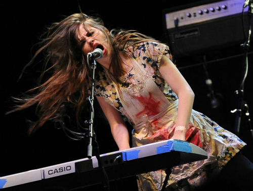 lebutcherettesdebi Live Review: Iggy & the Stooges, Le Butcherettes at the Hollywood Palladium (12/1)