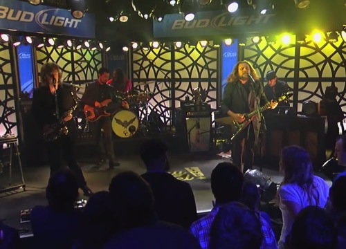 mmj kimmel Video: My Morning Jacket performs Outta My System & First Light on Kimmel