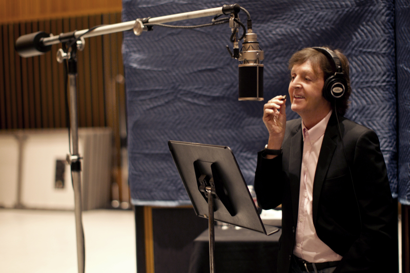 paul mccartney 2012 Check Out: Paul McCartney feat. Eric Clapton   My Valentine