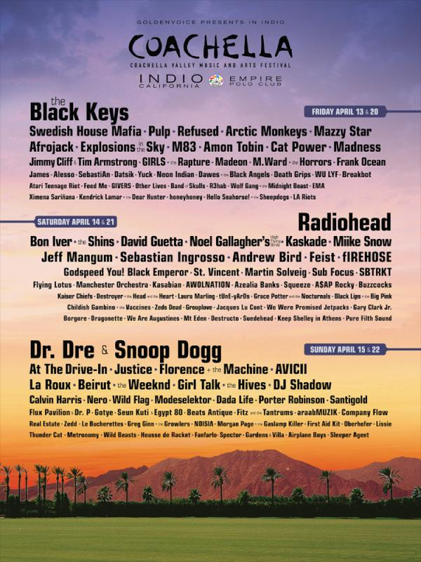 coachella 2012 Coachellas 2012 Lineup: One Day Later