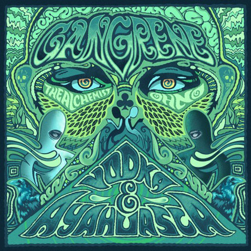 Gangrene returns with new album: Vodka & Ayahuaska