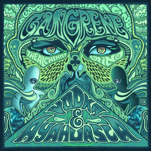 Gangrene returns with new album: Vodka & Ayahuaska