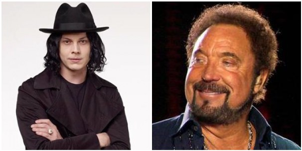 jack tom jones Jack White collaborating with Tom Jones