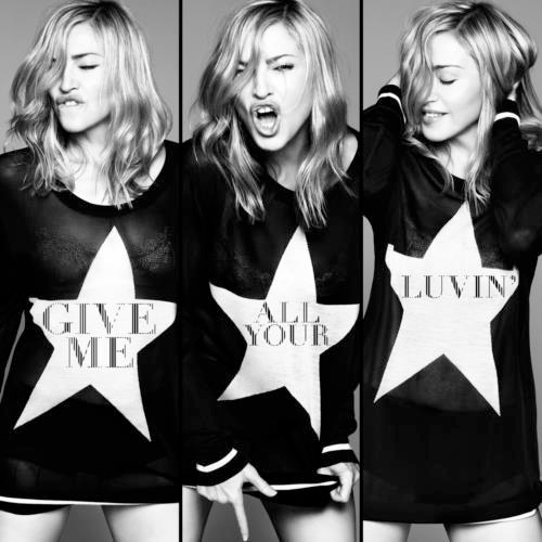 madonna give me all your luvin Madonna details new album: MDNA
