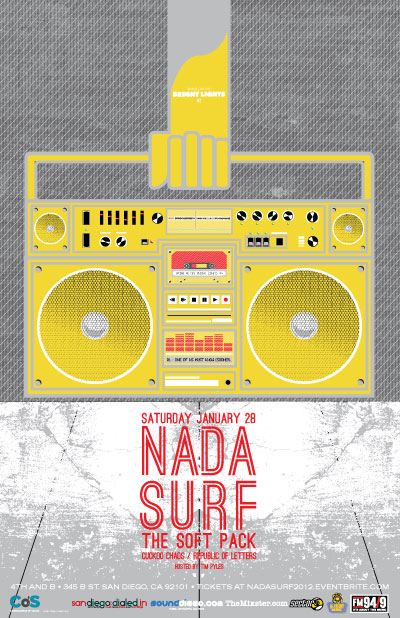 nada surf 01282012 web Giveaway: San Diegos Bring on the Bright Lights featuring Nada Surf
