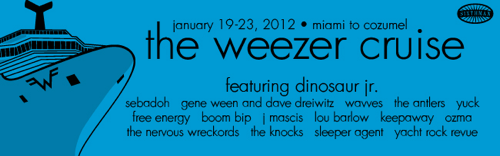 weezer banners 03 In Photos: The Weezer Cruise