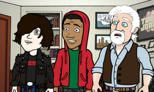 30rock Ryan Adams, Donald Glover, and Michael McDonald appear on 30 Rock webisode