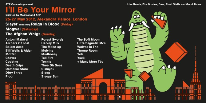atp ill be your mirror uk The Make Up reunite for ATPs Ill Be Your Mirror UK