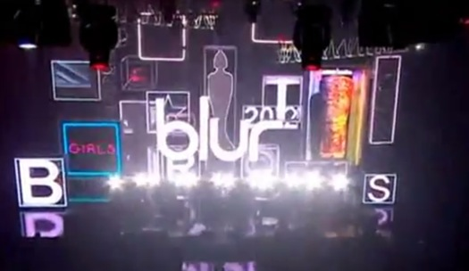 blur brits Video: Blur plays 2012 Brit Awards