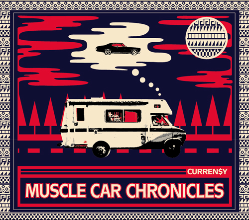 currenmusclecar1 Curren$y releases live instrument album: The Muscle Car Chronicles