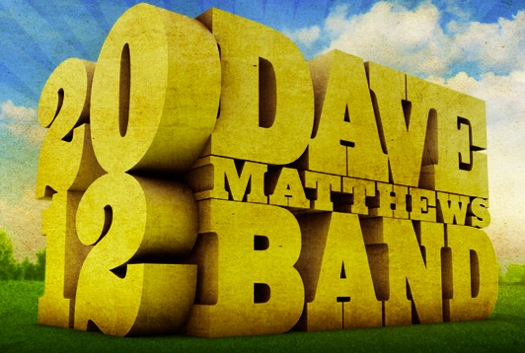 dmb 2012 Dave Matthews Band schedules 2012 tour dates