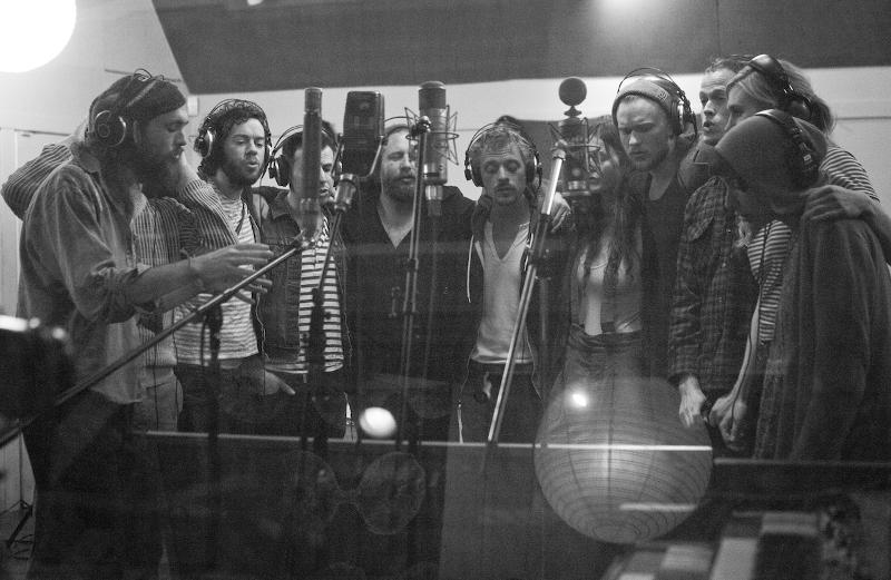 ed sharpe 2012 Edward Sharpe and the Magnetic Zeros announce sophomore album
