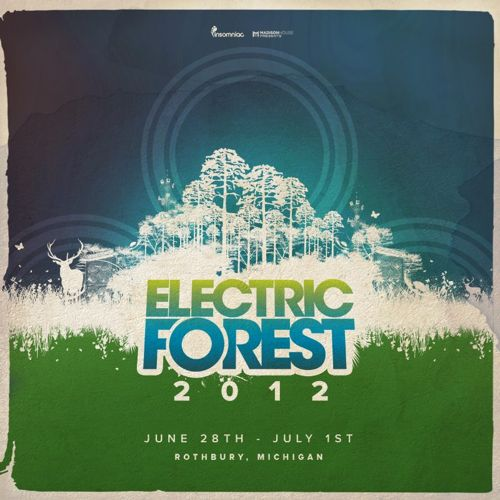 electric forest 2012 cos String Cheese Incident, Bassnectar, STS9, Girl Talk head Electric Forest 2012