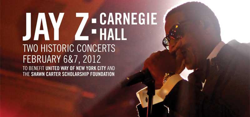jay z carnegie Video: Jay Z debuts Glory live