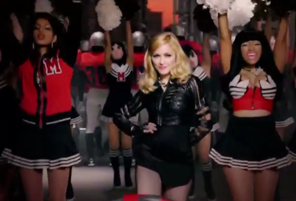 madonna give me all your luvin Video: Madonna feat. M.I.A. & Nicki Minaj   Give Me All Your Luvin