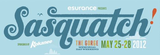 sasquatch 2012 Jack White, Beck, Bon Iver lead Sasquatch! 2012