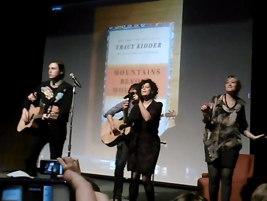 arcade fire lecture Video: Arcade Fire perform at University of Texas