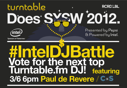 bloggerdjbattlecos1 Consequence of Sounds Paul de Revere to DJ in Turntable.fms #IntelDJBattle tonight