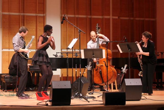 dan deacon ecstaticnyc 002 Live Review: Dan Deacon, NOW Ensemble, and Calder Quartet at Ecstatic Music Festival (3/20)