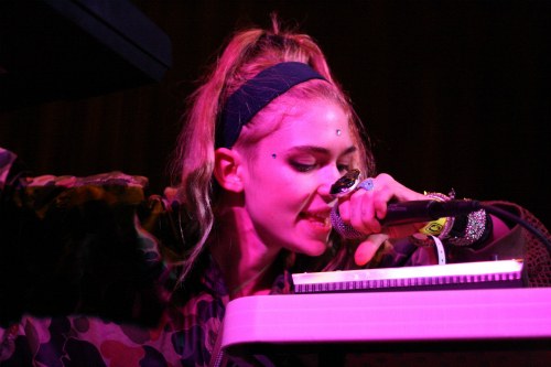 grimes1 CoS at SXSW 2012: Bruce Springsteen and the E Street Band, Fiona Apple, The Jesus and Mary Chain...