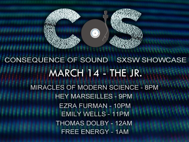 mar 14 showcase 1 Free Energy, Thomas Dolby headline Consequence of Sounds official SXSW showcase