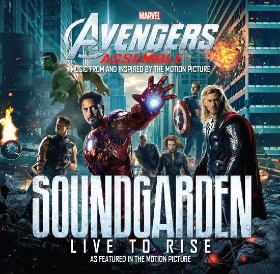 soungarden avengers Soundgarden contributes new song to The Avengers soundtrack
