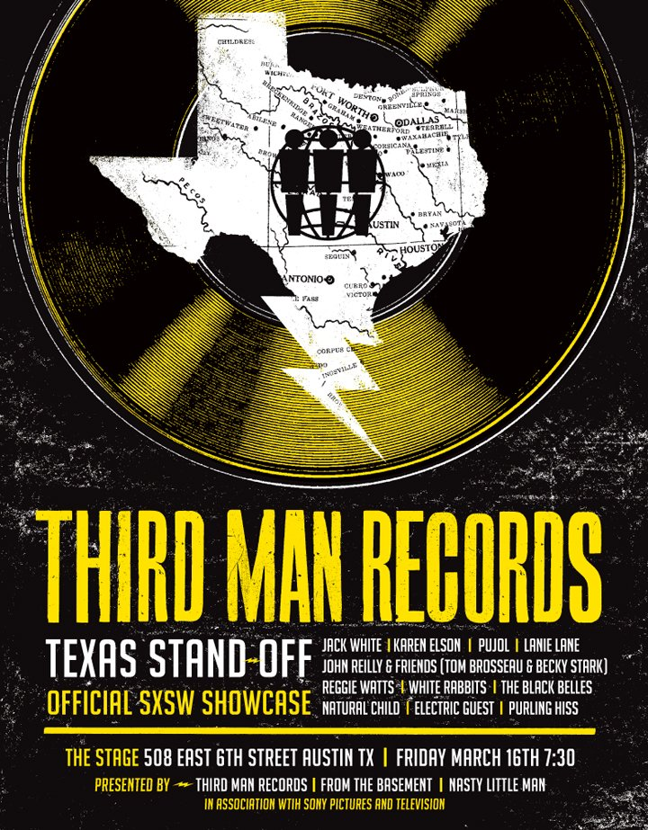 thirdmansxsw2012 Jack White to perform at South by Southwest