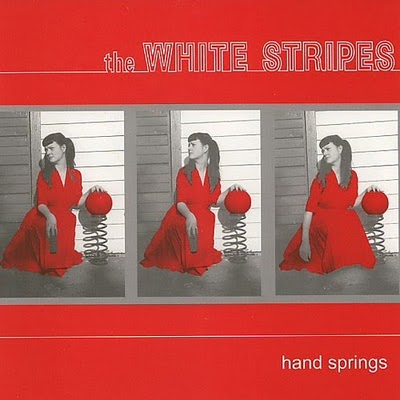 white stripes hand springs Two White Stripes singles reissued for Record Store Day 2012