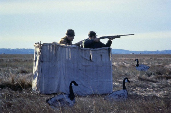 camouflaged hunters on a wild goose wait for birds1 Nod Your Head: What We Talk About When We Talk About Le Pasión