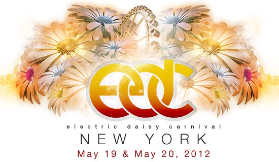 edc nyc Electric Daisy Carnival New York announces 2012 lineup