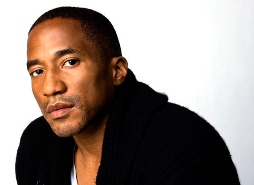q tip 2012 Q Tip signs with Kanye Wests G.O.O.D. Music