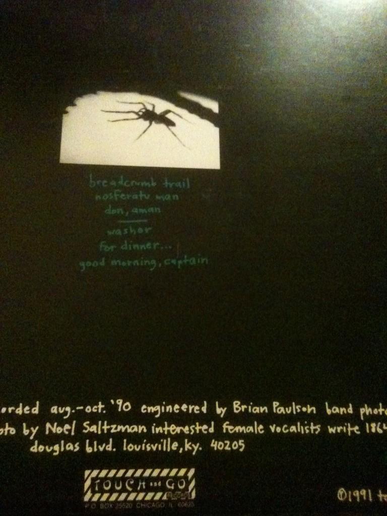 slint back cover 768x1024 Dreamlab: The Semantics of Post Rock