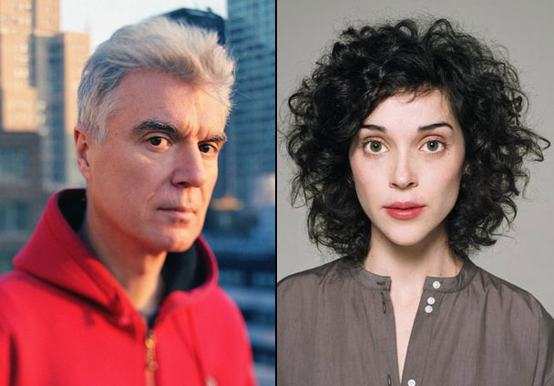 st vincent david byrne St. Vincent and David Byrne to release collaborative album in the fall