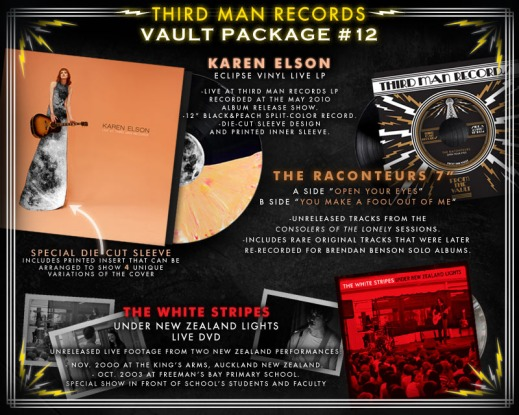 vault12 final3 Third Man Records to release new White Stripes concert film, unreleased Raconteurs tracks