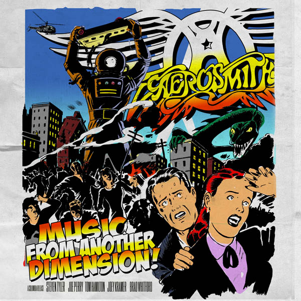 aerosmith music from another dimension Aerosmith announces new album: Music From Another Dimension