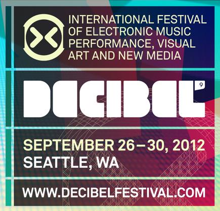 decibel fest 2012 Decibel Festival 2012 lineup revealed