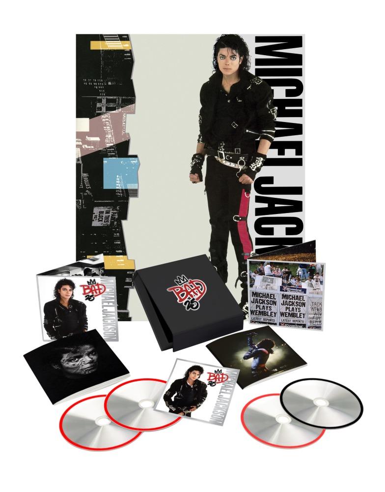 michael jackson bad reissue Michael Jacksons Bad gets 25th anniversary reissue