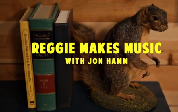 reggie watts jon hamm comedy bang bang Video: Reggie Watts makes music with John Hamm